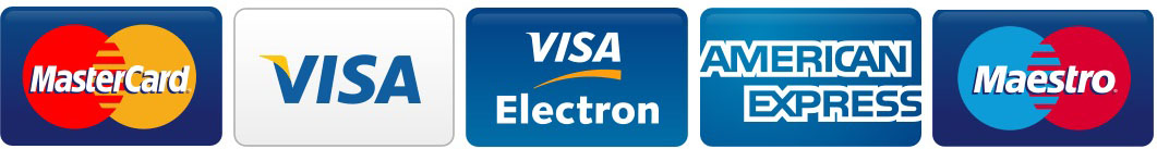 Accepted card payments